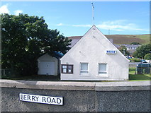 HU4039 : Scalloway Police Station, Berry Road by Nick Mutton