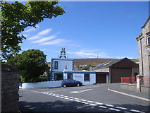 HU4039 : Junction of Gibblestone Road, Scalloway by Nick Mutton