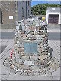 HU4039 : Shetland Bus memorial by Nick Mutton