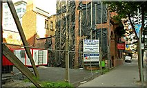 J3474 : Site, Victoria Street, Belfast (2) by Albert Bridge