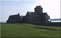 NM2824 : Iona Abbey in the Early Morning by Sarah Charlesworth