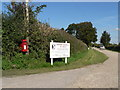 ST9600 : Pamphill: postbox № BH21 37, Barford Farm by Chris Downer