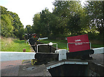 SO8685 : Stourbridge Canal Closed by Roger  Kidd