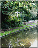 SO8685 : Staffordshire and Worcestershire Canal at Stourton Junction by Roger  Kidd