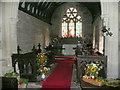 SO5520 : St. Matthew's church, Marstow, chancel by Jonathan Billinger