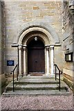 SE3766 : St Mary, Roecliffe, North Yorkshire - Doorway by John Salmon