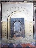 SE3766 : St Mary, Roecliffe, North Yorkshire - Fireplace by John Salmon