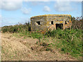 TG3930 : WWII pillbox by Evelyn Simak