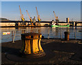 J3576 : Morning at Stormont Wharf, Belfast by Rossographer
