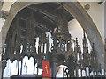 NZ3528 : Woodwork in St Edmund's church by Stephen Craven