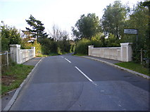 TM3464 : Rendham Bridge on the B1119 Low Road by Adrian Cable
