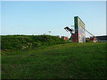 TL8364 : Airborne cyclist by John Goldsmith