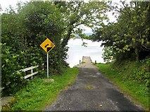 G7632 : Slipway near Inishfree by Oliver Dixon