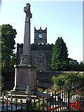SK0386 : War Memorial, Hayfield by Kenneth  Allen