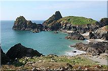 SW6813 : Landewednack: Kynance Cove by Martin Bodman