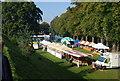 TR1457 : Food fair, Dane John, Canterbury by N Chadwick