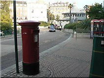 SZ0891 : Bournemouth: postbox № BH2 6, The Square by Chris Downer