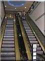 SE1633 : Escalator - Kirkgate Arndale Centre by Betty Longbottom