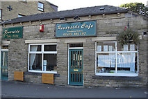 SE0125 : Riverside Cafe, Mytholmroyd by michael ely