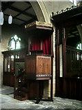 SE0824 : The Parish Church of St Paul, King Cross, Pulpit by Alexander P Kapp