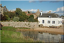 NO5603 : Anstruther Castle by Jim Bain