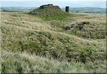SE0021 : Starfish bombing decoy control bunker, Slate Delf Hill, Sowerby by Humphrey Bolton