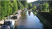 SD9926 : Rochdale Canal Hebden Bridge by Paul Anderson
