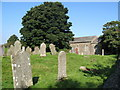 NY8548 : St Peter's Church and graveyard by Mike Quinn