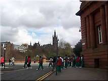 NS5666 : University of Glasgow Main Campus by Ciaran Laing