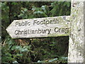 NY5678 : This way to Christianbury by David Liddle