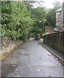 SE0422 : Stansfield Mill Lane - Rochdale Road, Triangle by Betty Longbottom