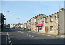 SE1321 : The sandwich shop, Crowtrees Lane, Rastrick by Humphrey Bolton
