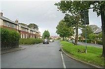 SE0423 : Bates Avenue - St Peter's Avenue, Sowerby by Betty Longbottom