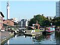 SP0687 : Farmer's Bridge Locks No 1, Birmingham by Roger  Kidd