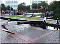 SP0687 : Farmer's Bridge Top Lock and Cambrian Wharf, Birmingham by Roger  Kidd