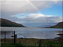 NG5927 : Caolas Scalpay at high tide by Richard Dorrell