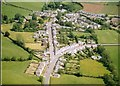 NS3408 : Kirkmichael village from the air by Paul Ravenscroft