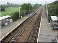 NZ2624 : Newton Aycliffe railway station by Adam Brookes