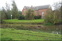 TM0756 : Across the river to Badley Mill by Andrew Hill