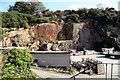 SW6629 : Trannack Quarry by Chris Allen
