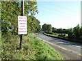 N8971 : Protest sign at Dunmoe, near Navan, Co. Meath by JP