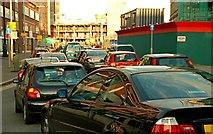 J3474 : Evening peak traffic, Belfast (1) by Albert Bridge