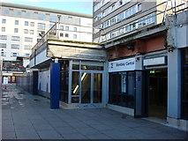 TQ1885 : Wembley Central station, side entrance by Oxyman