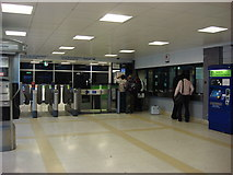 TQ1885 : Wembley Central station, ticket office by Oxyman